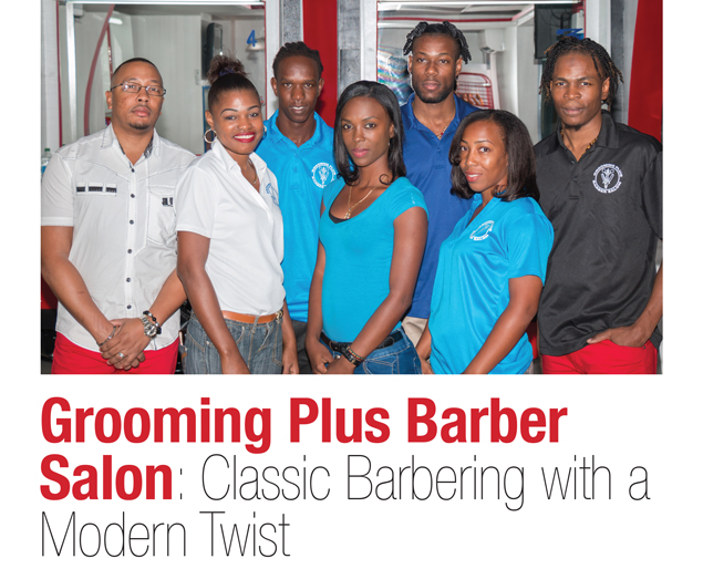 Grooming plus barber salon classic barbering with a for A cut above grooming salon